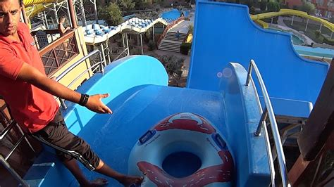 tsunami water   jungle aqua park youtube