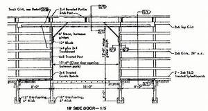 30 U00d772 Pole Machine Shed Plans  U0026 Blueprints For Industrial