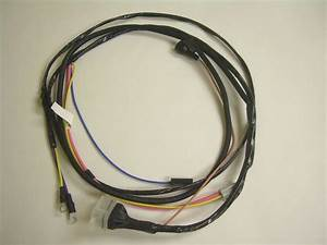 1967 Nova Chevy Ii Engine Starter Wiring Harness V8 283