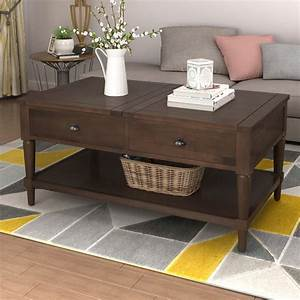 Rosalind, Wheeler, Maes, Solid, Wood, Lift, Top, Coffee, Table, With, Storage