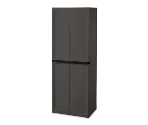 Sterilite Storage Cabinet by Sterilite 4 Shelf Storage Cabinet 01423v01