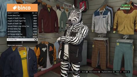 GTA 5 ONLINE *NEW* COOL ZEBRA OUTFIT (PS4XBOXONEPC) - YouTube