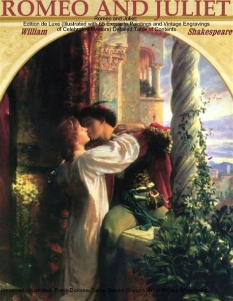 romeo  juliet edition de luxe illustrated