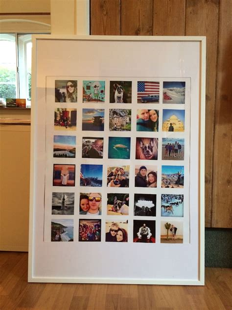 cheap instagram wall collage travel blog