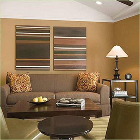 gambar desain warna coklat ruang tamu warna cat interior