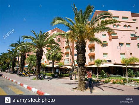 Modern Apartments In Marrakech Morocco Stock Photo