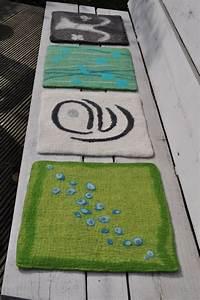 Teppich Filzen Anleitung : seat pads felt by brit ro filz pinterest filzen ~ Lizthompson.info Haus und Dekorationen
