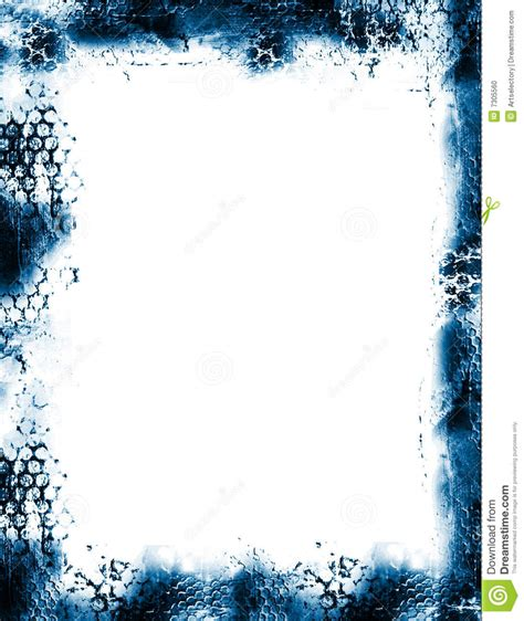 grunge frame border stock illustration image  shredded