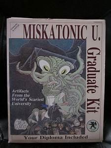 Miskatonic U  Graduate Kit  From Chaosium Games  1987