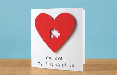 DIY Valentine's Day Husband Card