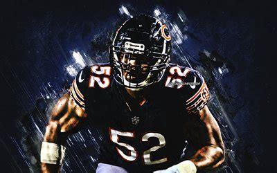 herunterladen hintergrundbild khalil mack chicago bears