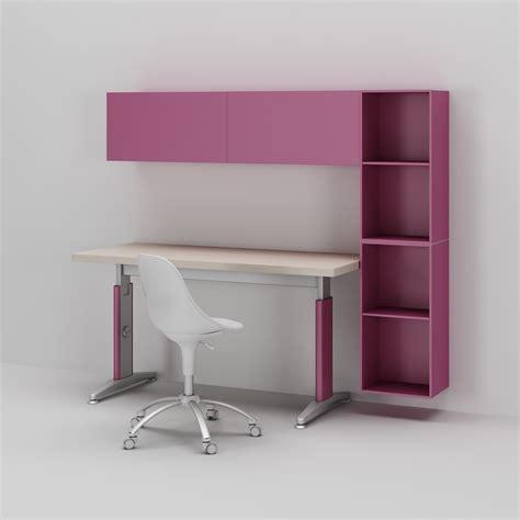 bureau enfant ik饌 bureau enfant fille r 233 glable en hauteur compact