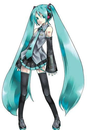 Miku Hatsune From Vocaloid