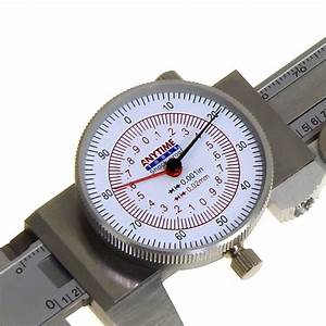 Dual Reading Dial Caliper Metric Standard Inch Mm
