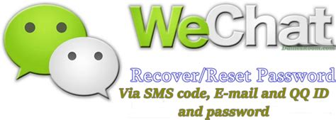 How To Retrieve My Wechat Forgotten Password Account Via