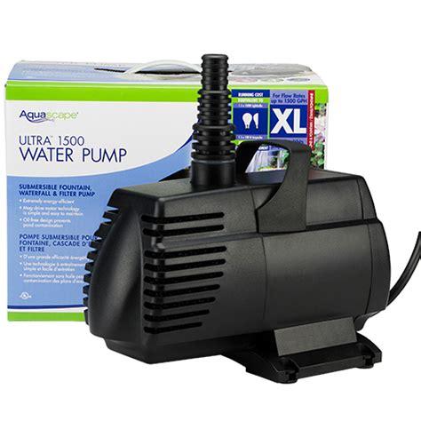 Aquascape Pumps by Aquascape Ultra 1500 Gph Mpn 91009 Best Prices On
