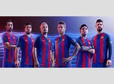 LaLiga A look at Barcelona's home jersey ahead of 2016