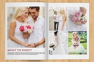10 professional wedding magazine templates for photographers With wedding photography magazine template
