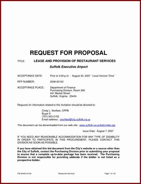 business proposal sample letter printable