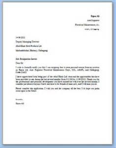 how do i write a resignation letter