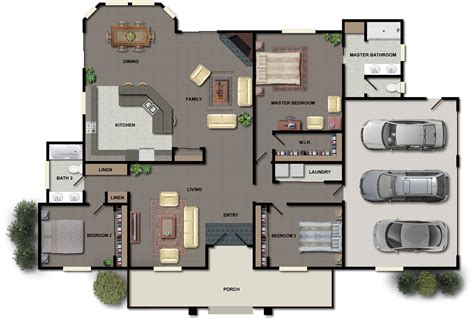 house plan ideas 3 bedroom house plans ideas