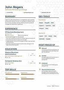 examples of resumes by enhancv With who does resumes