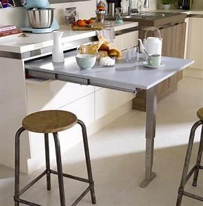 Table Pour Petite Cuisine : table escamotable pour cuisine cuisine id es de ~ Dailycaller-alerts.com Idées de Décoration