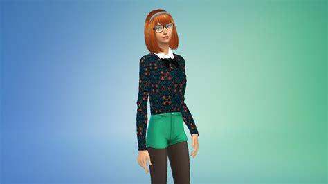 Fryzury The Sims 4