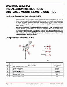 Dts Panel Remote Control Installations