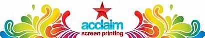Printing Acclaim Screenprinting Screen Clipart Fonts Cliparts