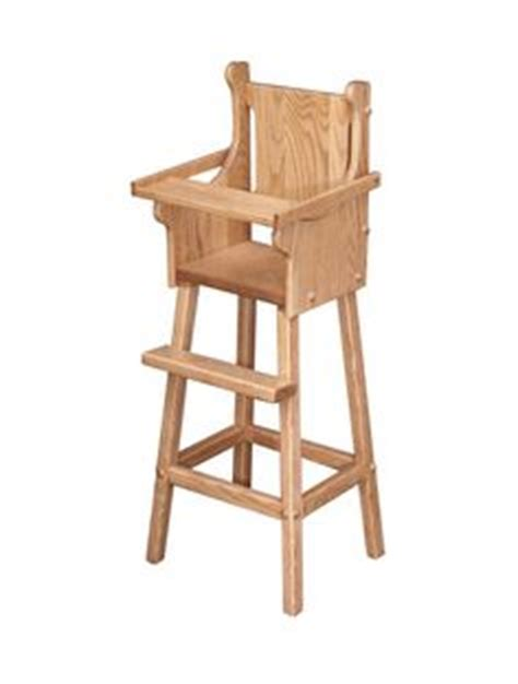 images  woodworking plans  pinterest high chairs doll high chair  wooden high