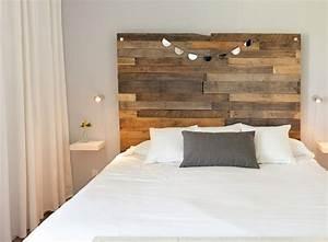 1001 modeles pour une tete de lit en palette de bois diy With chambre bébé design avec bouquet fleurs en bois