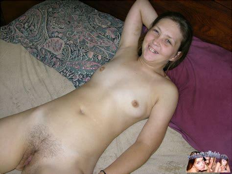 Year Old Amateur Farm Girl Spreading Hairy Bush Apart