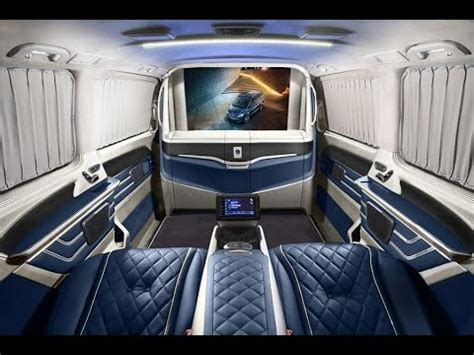 mercedes maybach  class luxury vip van  klassen mva