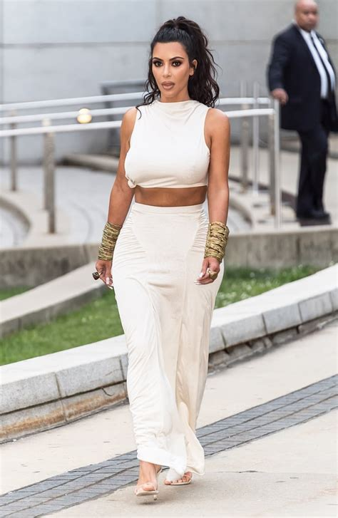 kim kardashians outfit  cfda awards  popsugar