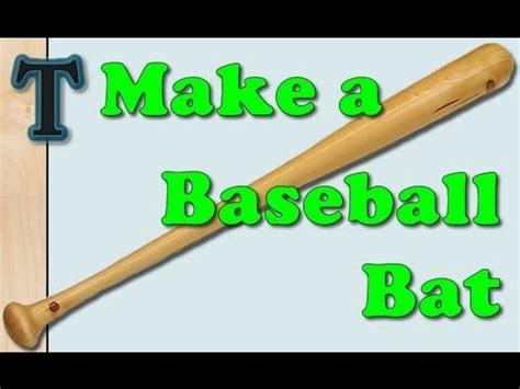 making  baseball bat   lathe duplicator youtube