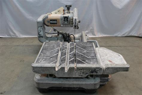 ridgid tile saw wts2000l ridgid wts2000l tile saw property room