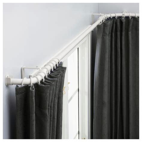 1000 ideas about bay window curtain rod on