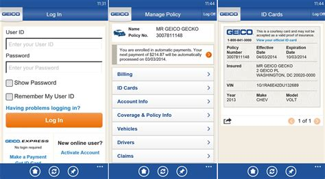 geico pay by phone geico insurance finally releases an official windows phone