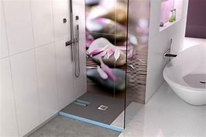 Wedi Bodengleiche Dusche : receveurs de douches a carreler wedi receveur de douche carreler avec coulement int gr ~ Frokenaadalensverden.com Haus und Dekorationen