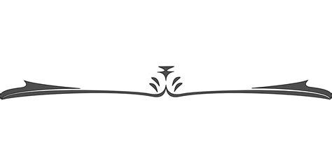 Decorative Divider Lines - divider horizontal line 183 free vector graphic on pixabay