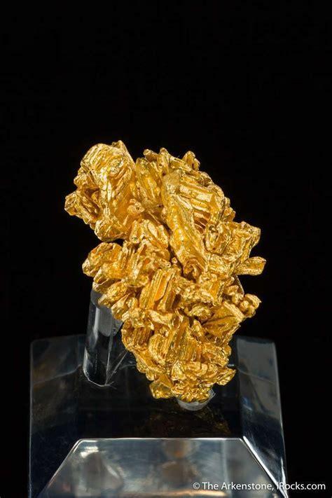 Gold Jb17 1922 Serra De Caldeirao Brazil Mineral