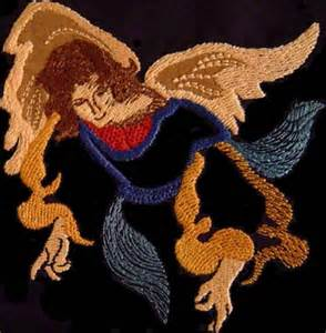 Angel Machine Embroidery Designs