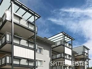 Senkrechtmarkise Für Balkon : sonnenschutz am balkon ideen f r die richtige verschattung ~ Frokenaadalensverden.com Haus und Dekorationen
