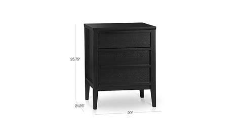 spotlight ebony 58 desk spotlight ebony filing cabinet crate and barrel