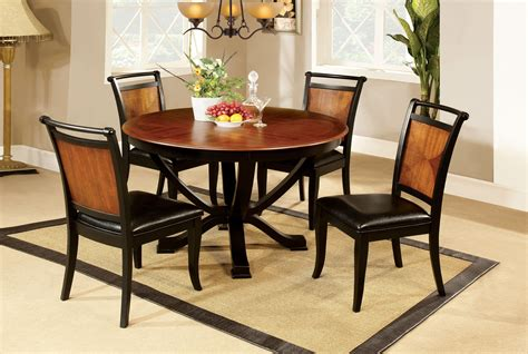 furniture  america loritha  piece  tone  dining