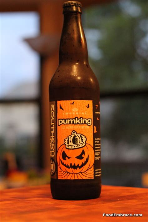 Dogfish Head Pumpkin Ale by Review Southern Tier Pumpking Food Embrace