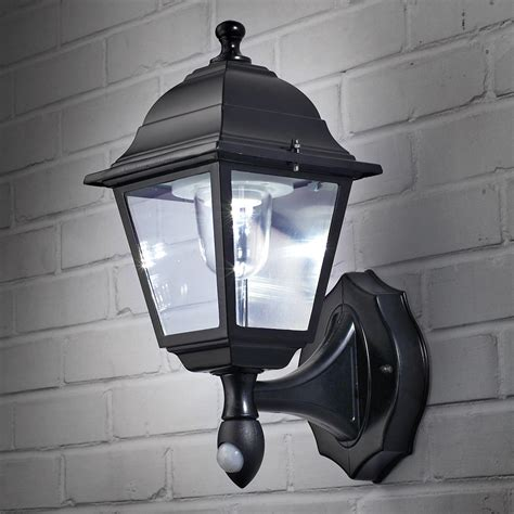 wireless motion activated outdoor wall sconce from