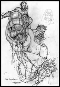 Red J :: A Blog of Art by Jon Sommariva: Hulk VS Superman ...