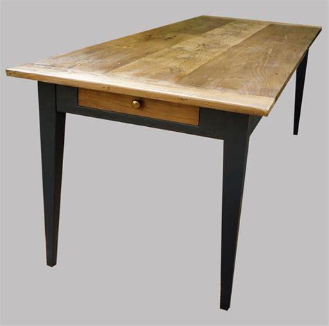 grande table cuisine longue table ancienne rectangulaire peinte et